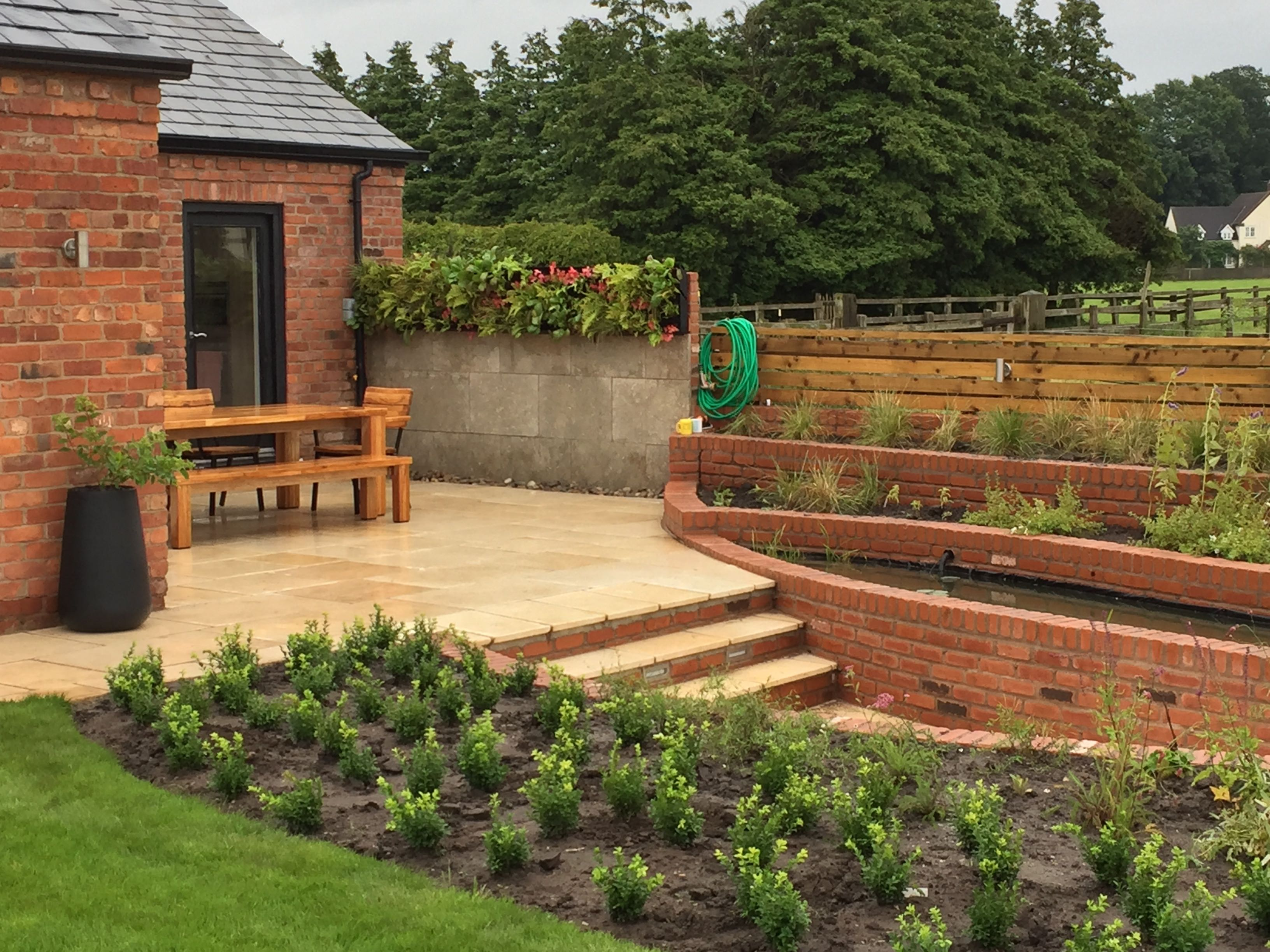 Garden Design, Bringing The Indoors Outdoors Wigan, Manchester